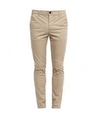 Светло-коричневые брюки чинос от Topman