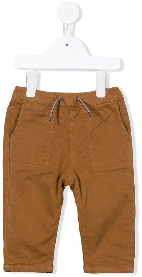 Детские светло-коричневые брюки для мальчиков от Paul Smith