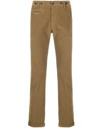 Светло-коричневые вельветовые брюки чинос от Barena