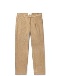 Светло-коричневые вельветовые брюки чинос от Folk