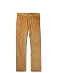 Светло-коричневые вельветовые брюки чинос от Missoni