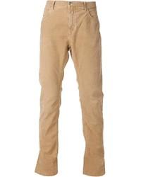 Мужские светло-коричневые вельветовые классические брюки от Closed