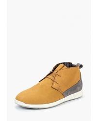 Светло-коричневые замшевые ботинки дезерты от Beppi