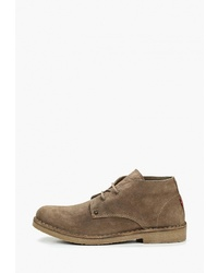 Светло-коричневые замшевые ботинки дезерты от Levi's