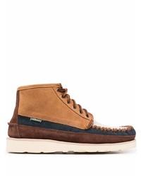 Светло-коричневые замшевые ботинки дезерты от Sebago