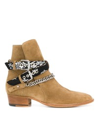 Мужские светло-коричневые замшевые ботинки челси от Amiri