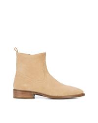 Мужские светло-коричневые замшевые ботинки челси от Coach