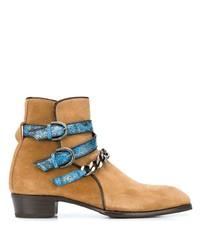Мужские светло-коричневые замшевые ботинки челси от Lidfort