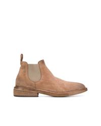 Мужские светло-коричневые замшевые ботинки челси от Marsèll
