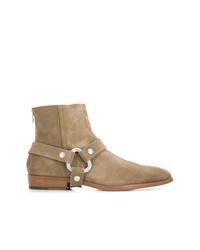 Мужские светло-коричневые замшевые ботинки челси от Zadig & Voltaire