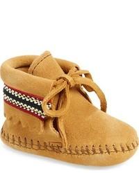 Светло-коричневые замшевые ботинки