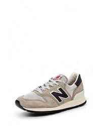 Мужские светло-коричневые замшевые кроссовки от New Balance