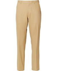 светло коричневые классические брюки original 4711002