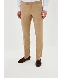 Мужские светло-коричневые классические брюки от Absolutex