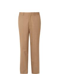 Мужские светло-коричневые классические брюки от Auralee