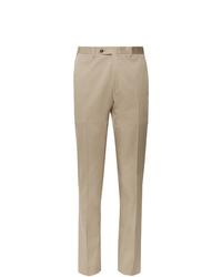Мужские светло-коричневые классические брюки от Canali