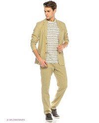 Мужские светло-коричневые классические брюки от FiNN FLARE