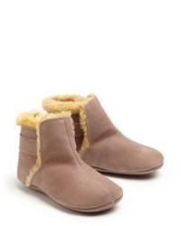 Детские светло-коричневые кожаные ботинки для мальчиков от Old Soles