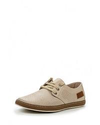 Мужские светло-коричневые кожаные ботинки от Tesoro