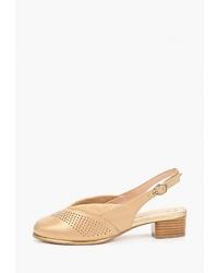 Светло-коричневые кожаные туфли от Balex