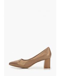 Светло-коричневые кожаные туфли от Berkonty