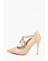 Светло-коричневые кожаные туфли от Lino Marano