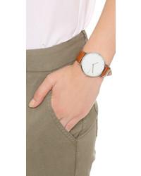 Женские светло-коричневые кожаные часы от RumbaTime