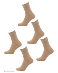 Мужские светло-коричневые носки от Malerba