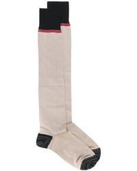 Женские светло-коричневые носки от Marni