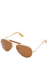 Светло-коричневые солнцезащитные очки