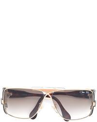 Женские светло-коричневые солнцезащитные очки от Cazal
