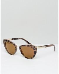 Женские светло-коричневые солнцезащитные очки от Jeepers Peepers