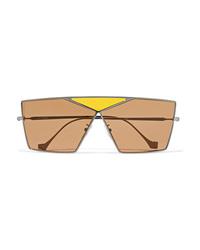 Женские светло-коричневые солнцезащитные очки от Loewe