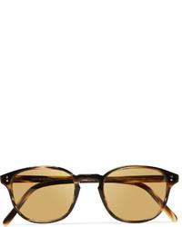 Мужские светло-коричневые солнцезащитные очки от Oliver Peoples