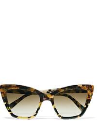 Женские светло-коричневые солнцезащитные очки от Prism