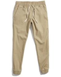Светло-коричневые спортивные штаны