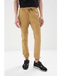 Мужские светло-коричневые спортивные штаны от Aarhon