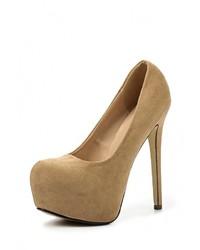 Светло-коричневые туфли от Elche