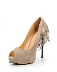 Светло-коричневые туфли от Grand Style