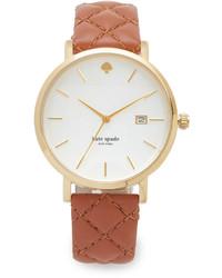 Женские светло-коричневые часы от Kate Spade