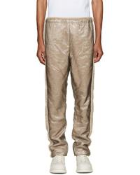 Мужские светло-коричневые шерстяные спортивные штаны от Cottweiler