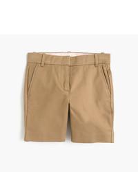 Светло-коричневые шорты