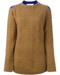 вязаный свитер medium 352729