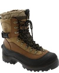 Светло-коричневый зимние ботинки