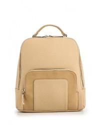 Женский светло-коричневый кожаный рюкзак от Ors Oro