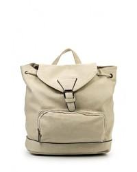 Женский светло-коричневый кожаный рюкзак от Paolo