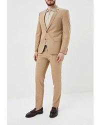 Светло-коричневый костюм от Absolutex