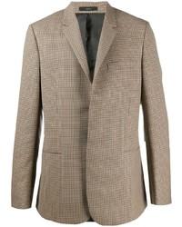 Мужской светло-коричневый пиджак в клетку от Paul Smith