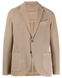 Мужской светло-коричневый пиджак от Circolo 1901