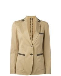 Женский светло-коричневый пиджак от Etro